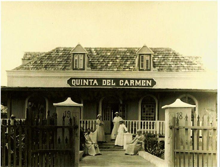 Quinta del Carmen 1918