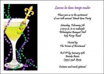 as you are planning your Mardi Gras party on Fat Tuesday or at any time of the year, personalize your Mardi Gra invitations with a masquerade theme at Holiday-Invitations