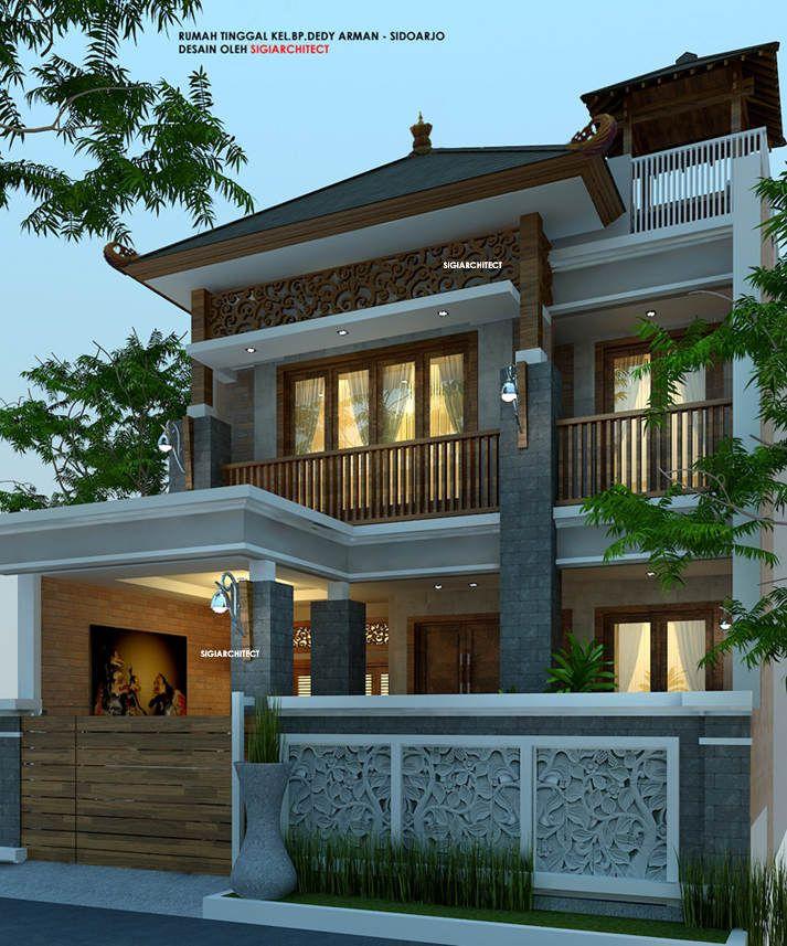 Rumah Etnik Jawa 2 Lantai Joglo 2 Square And