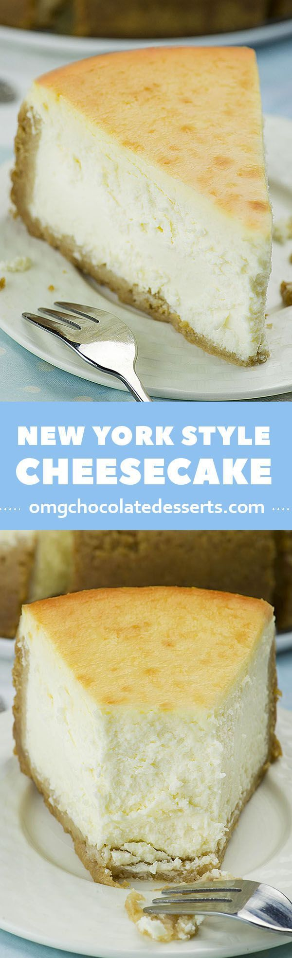 Looking for the best and easy recipe for a classic, melt-in your-mouth New York Style Cheesecake? Rich and dense, but creamy and smooth at the same time, this cheesecake is absolutely delicious!