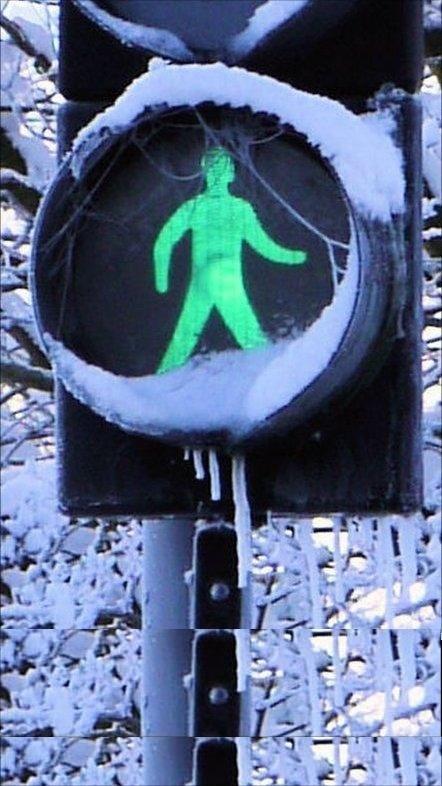 Dear Santa, Please turn all my pedestrian crossings green. Ta!