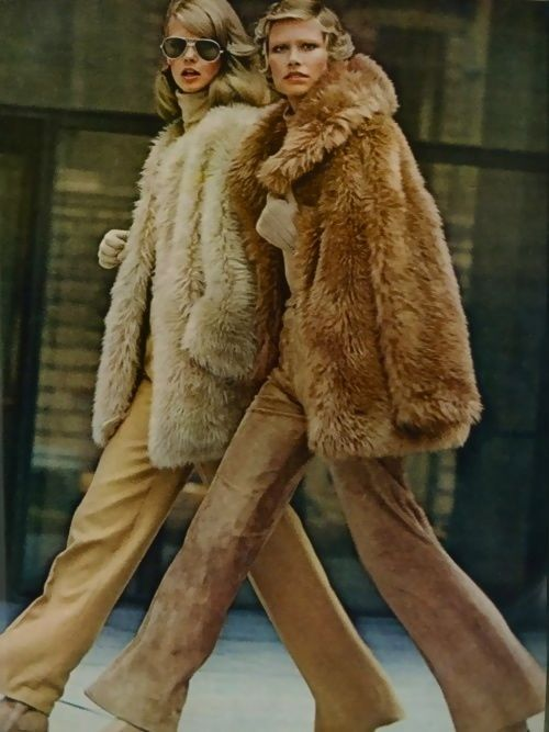 Vintage Vogue Fashion Editorial 1972