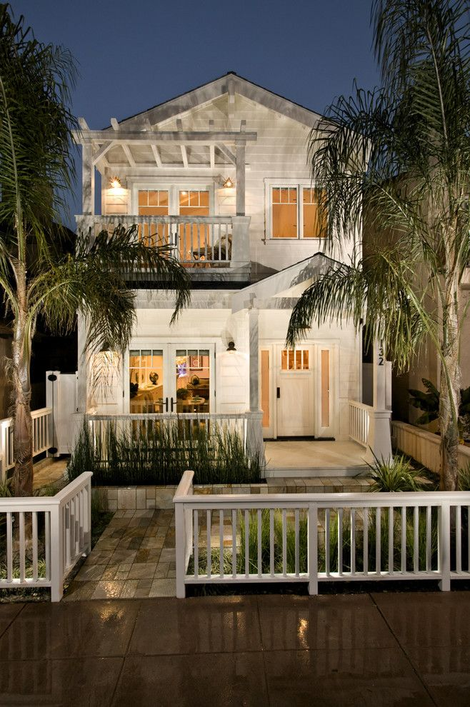 Marco - Modern Beach Craftsman, Seal Beach CA - contemporary - exterior - orange county - Jeannette Architects
