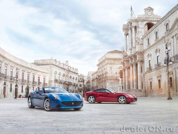 Феррари Калифорния Т 2015 / Ferrari California T 2015