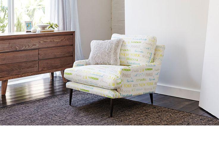 Bergman Accent Chair at Euphoria Furniture