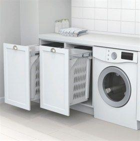60L Laundry Hamper  From Hideaway Bins - services Australia from NZ. http://www.hideawaybins.com.au/media/36056/kbq202_pg177%20kitchen%20king.pdf