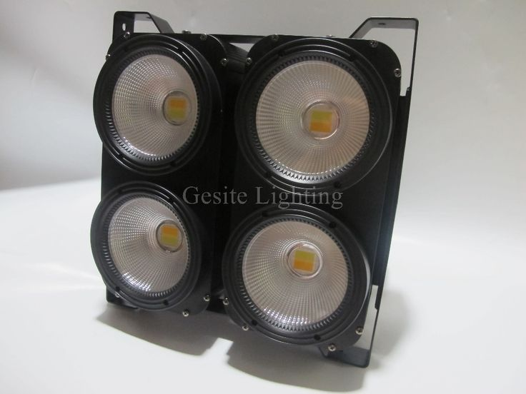 600.00$  Watch here - http://ai3hq.worlditems.win/all/product.php?id=32762709170 - Cheap DJ Disco Party Wedding LED Audience Porojector 4PCS 100W Single WW COB LED Blinder Light