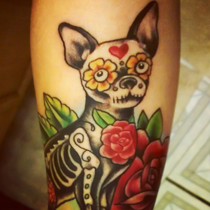 MUST HAVE! Chihuahua tattoo