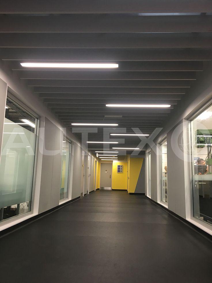 Autex Interior Acoustics - Quietspace® Frontier™ - Auckland University Engineering Block, NZ - Colour: Flatiron - Acoustics in Education