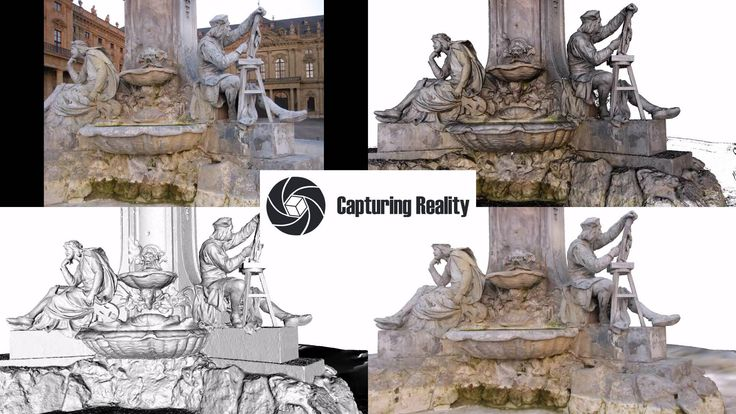 The best i know (from CMPMVS) - 3D Reconstruction of the Residenz Fountain at Wurzburg