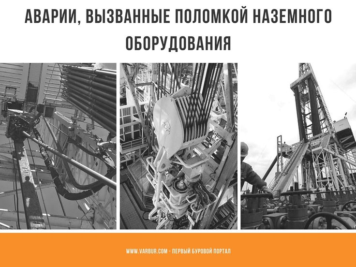 Аварии, вызванные поломкой наземного оборудования