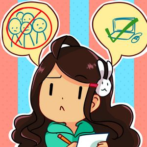 Check out the comic Anti-Social Media :: 15: presentable art?