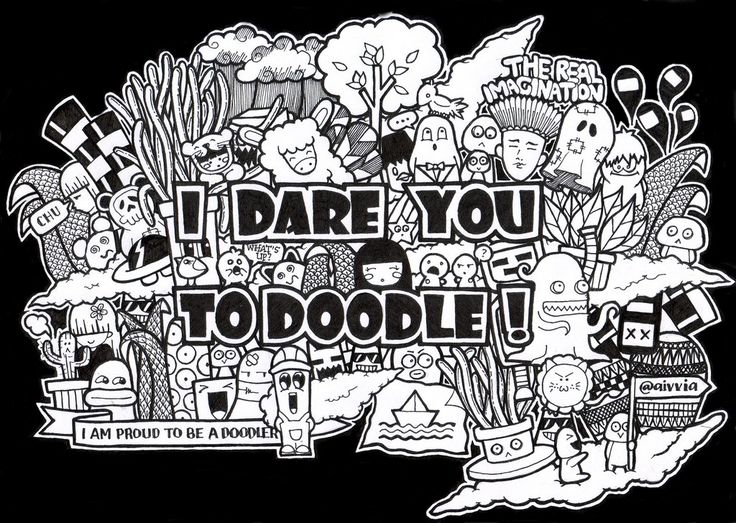 I DARE YOU TO DOODLE By Aivviadeviantart On DeviantArt