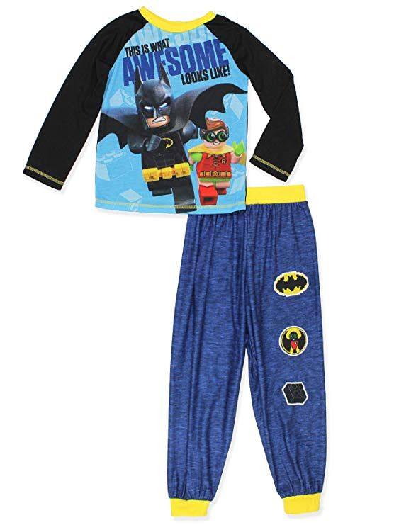 d5a1f761d3 Get ready to save Gotham in this awesome boy s Lego Batman pajamas! This  comfortable pj set features Batman and Robin!  legobatman  yankeetoybox