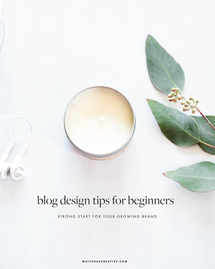 Beginner blog design tips on how you can optimize your brand identity and grow your audience through meaningful and beautiful designs.