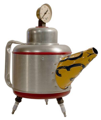 Théières décoratives originales / WoDesign. www.teacampaign.ca  Source: see below.