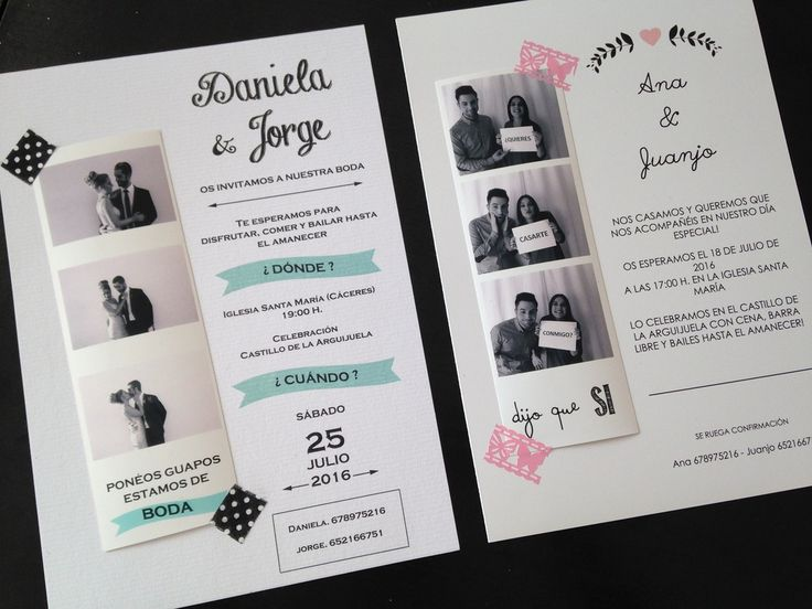 Dise os de tarjetas de bodas originales casa dise o - Disenos de tarjetas ...