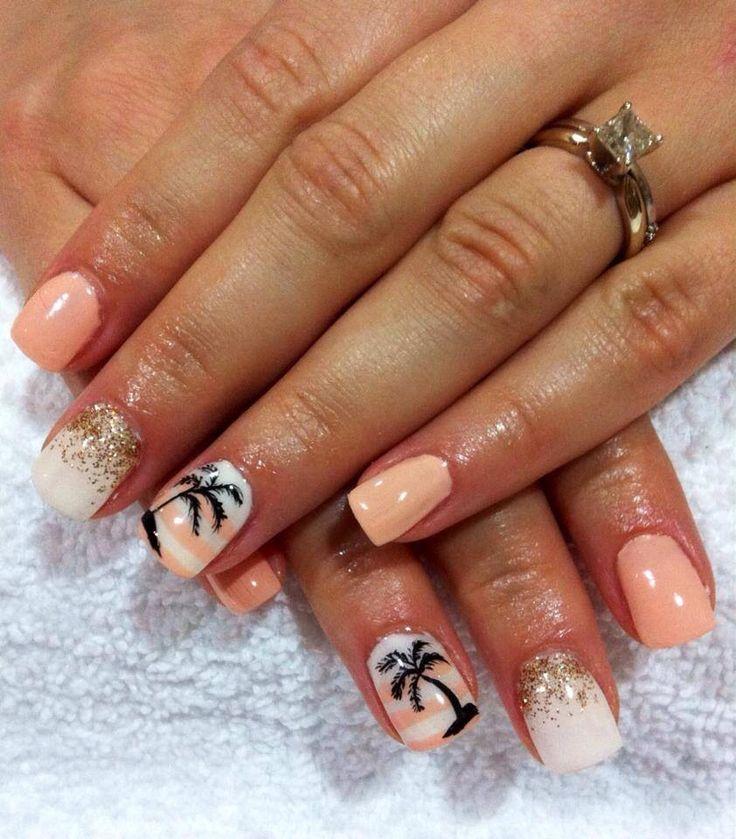 Hawaii nails                                                                                                                                                                                 More