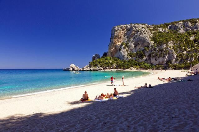 The top five beaches to visit on the island of Sardinia, Italy. Find 5 great Sardinia beaches to go to on your summer vacation and how to get to them.