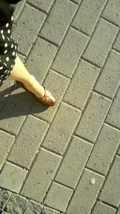 Skirts and happy feet in good looking shoes. :)