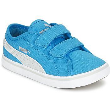 klassieke Puma elsu v2 cv v kids jongens sneakers (Blauw)