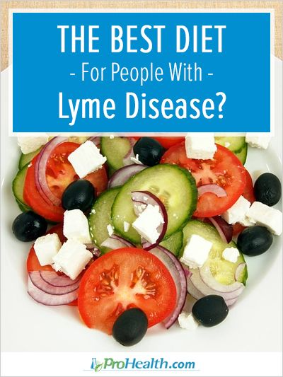 In this article, author and Lyme disease survivor Connie Strasheim shares tips for putting together a healthy diet when you have Lyme disease.  - ProHealth.com
