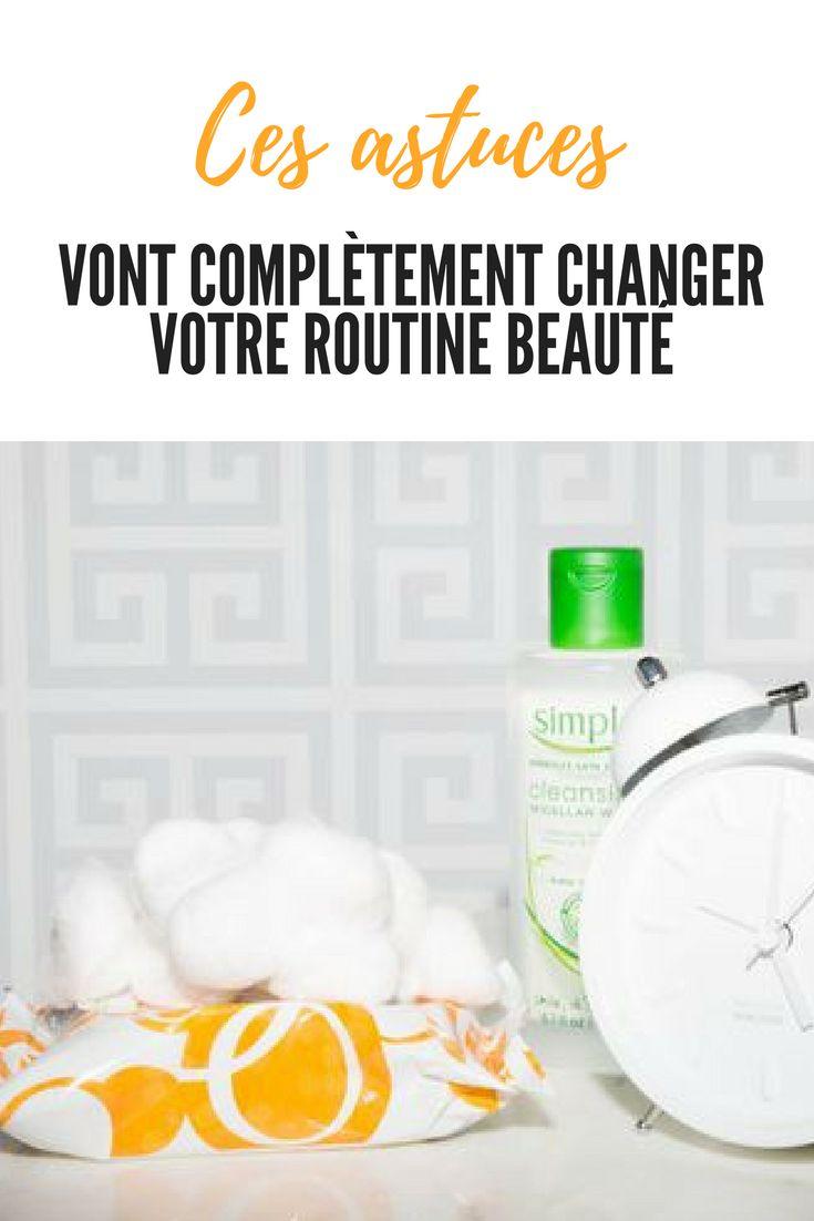 Ces astuces vont complètement changer votre routine beauté. . . . . #routine #beauté #femme #mode #visage #astuces #idées #conseils