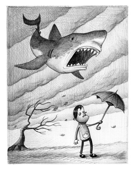 'Wild Weather'. Illustration by Chris Harrendence