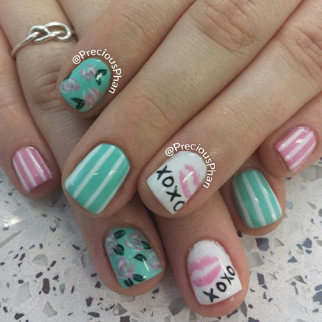 1000+ Images About February Nail Art On Pinterest