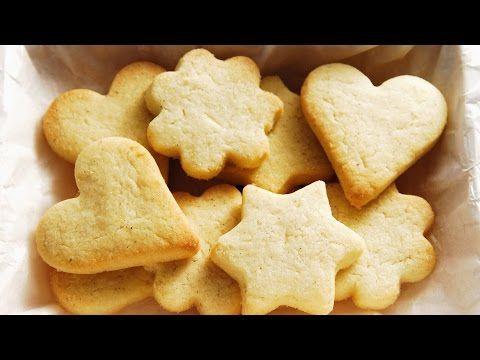 Como hacer galletas de mantequilla. Faciles y rapidas - YouTube