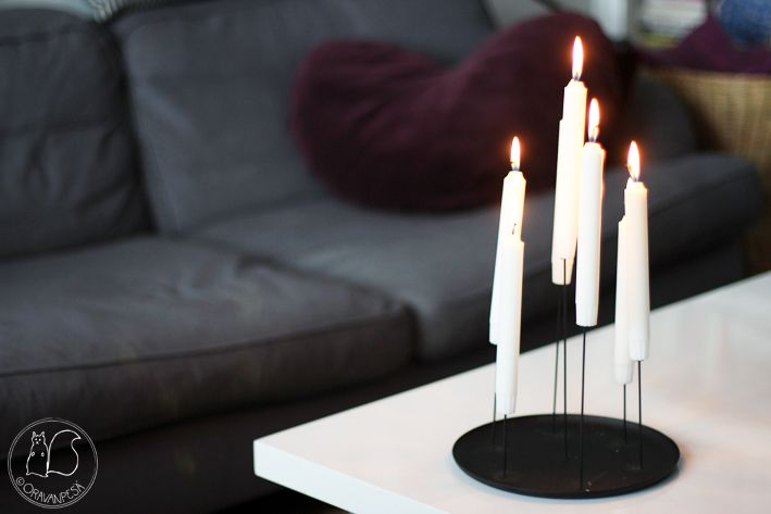 Oravanpesä | Eno Multi Candle Pin