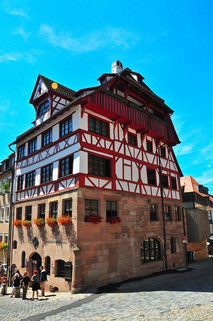 Albrecht Dürer's House, Nuremberg, Germany #InspiredBy #germany25reunified #joingermantradition