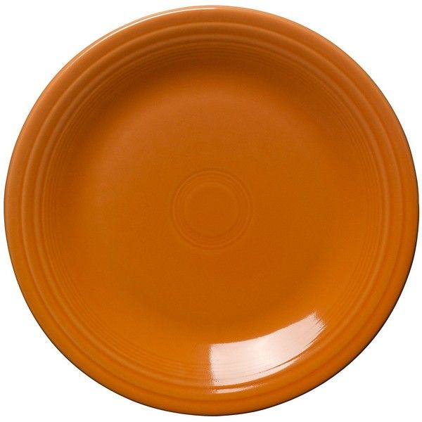 Amazon.com Fiesta 10-1/2-Inch Dinner Plate, Tangerine (27 CAD) ❤ liked on Polyvore featuring home, kitchen & dining, dinnerware, fiesta dinner plates, orange dinnerware, everyday dinnerware, orange dinner plates and casual dinnerware