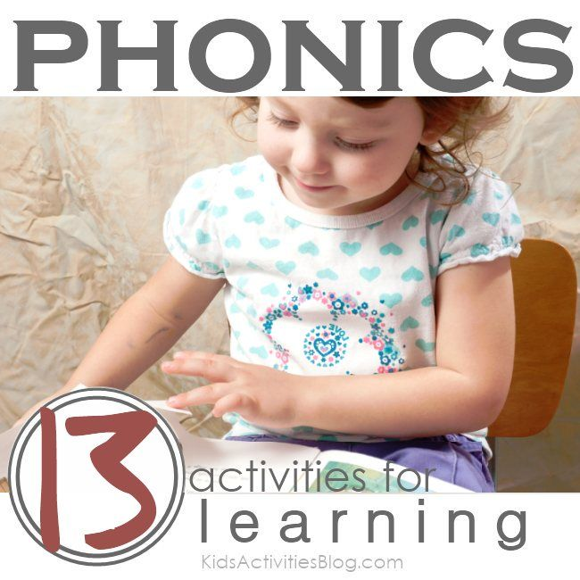 Help your Kindergartener sound out words.  Make literacy fun for kids.