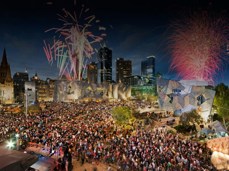 Whenever there's a big sporting event, Federation Square is chock full of tourists and locals who all enjoy the action on a big screen. The square in Melbourne is also home to family friendly activities, restaurants, and other cultural fairs. Be sure to explore! Find more best places to watch the World Cup in Australia: http://pin.it/7HWwkkH
