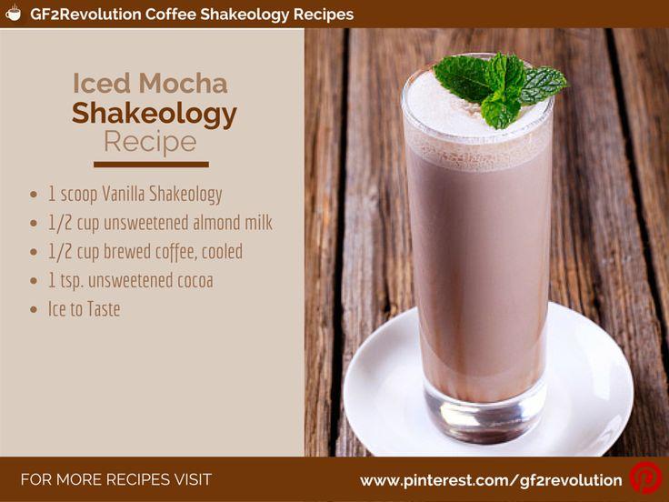 Recipes For Shakeology Cafe Latte