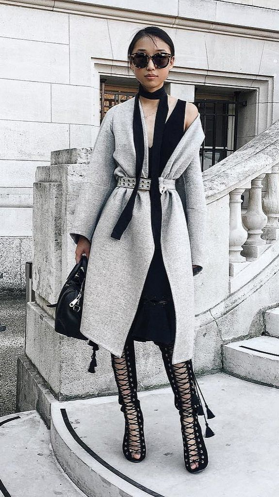 A statement coat can pull an otherwise ordinary outfit together and make it extraordinary.