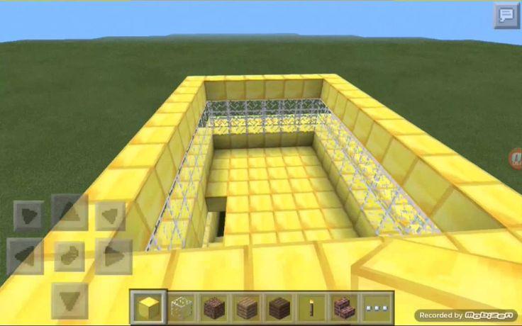 Minecraft casa de oro facil de hacer