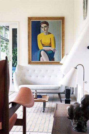 11 Midcentury modern furniture brands you should know // Finn Juhl #sofa #danishmodern