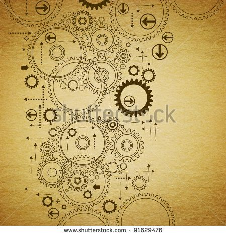 drawing clock engine - Google Search
