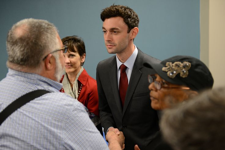 """With Democrats desperate for signs of hope after Hillary Clinton's loss to Trump, Ossoff's underdog """"Make Trump Furious"""" campaign has endeared him to national anti-Trump activists and pushed him well ahead of 17 rivals in polls. The documentary filmmaker and former congressional aide raised a jaw-dropping $8.3 million in the first quarter, his campaign said."""