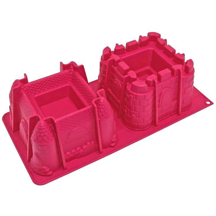 Moule 2 châteaux en 3D - Annikids