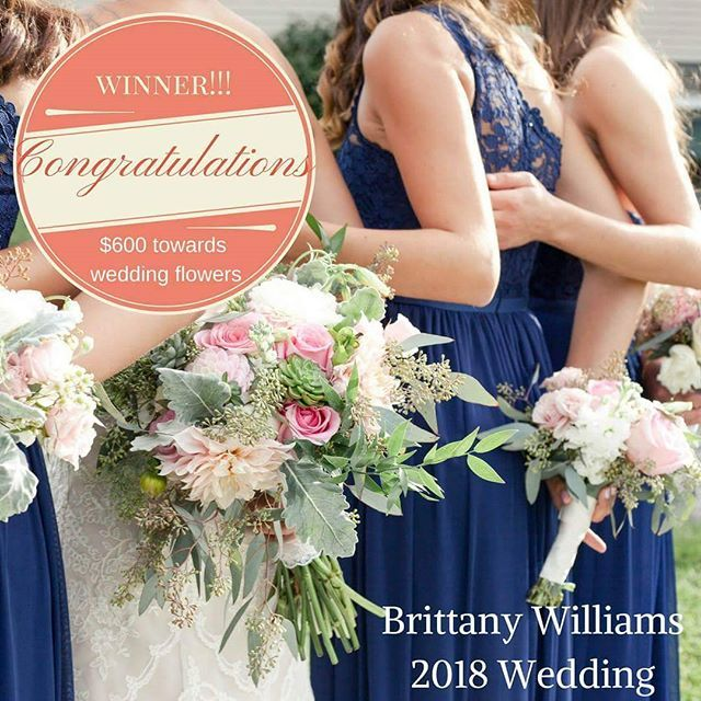 We have a winner! Congratulations to Brittany Williams! You've won $600 of wedding day flowers! We'll email you all the details.  XO -the One Fine Day Team #onefinedayct #love #flowers #floraldesign #florist #florals #flowery #bride #giveaway #onefinedaywinner #contest #contests #weddingplanner #eventplanner #weddingplanning #bridal #congratulations #vscocam #flashesofdelight #light #visualsoflife by onefinedayplanner. bride #flowers #light #onefinedaywinner #eventplanner #giveaway #love…