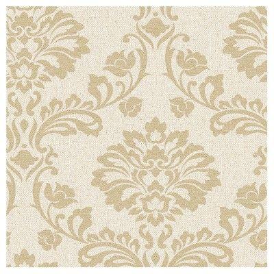 Graham & Brown Aurora Wallpaper - Beige/Gold, Light Beige