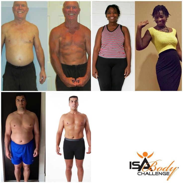Isagenix Before & After - IsaBody Challenge Finalists #weightloss