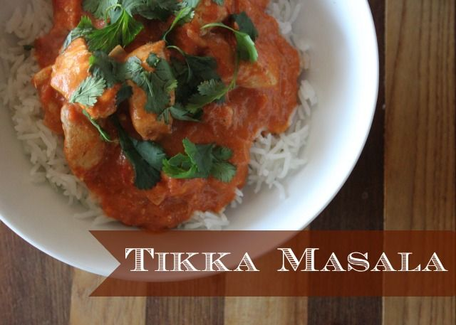 Chicken tikka masala, Chicken tikka and Easy chicken tikka masala on ...