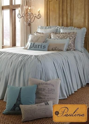 43 best french laundry bedding images on pinterest chic for French farmhouse bed
