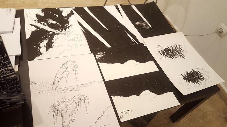Abdelkader Benchamma en la Drawing Room #Madrid Galería ADN #Dibujo #Drawing #Arte #Art #ContemporaryArt #ArteContemporáneo #Arterecord 2016 https://twitter.com/arterecord
