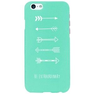 Cute Mint Phone Case with Arrows for iphone 6 and iphone 6 plus