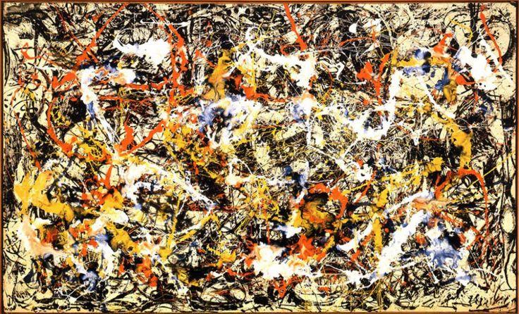 Jackson Pollock – Convergence – 1952